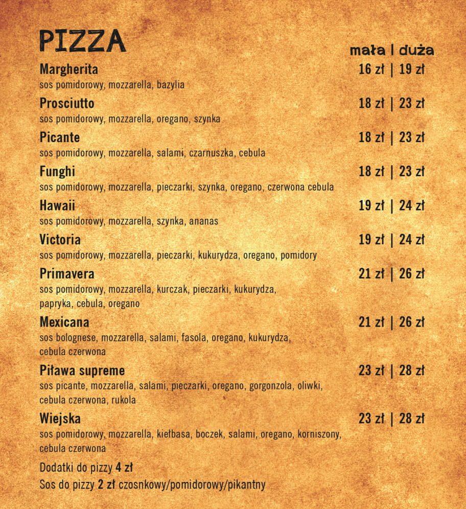 pizza na wynos z dowozem Kąty Wrocławskie i okolice