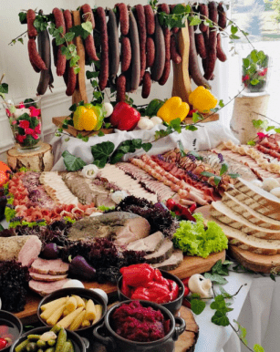 Stół staropolski