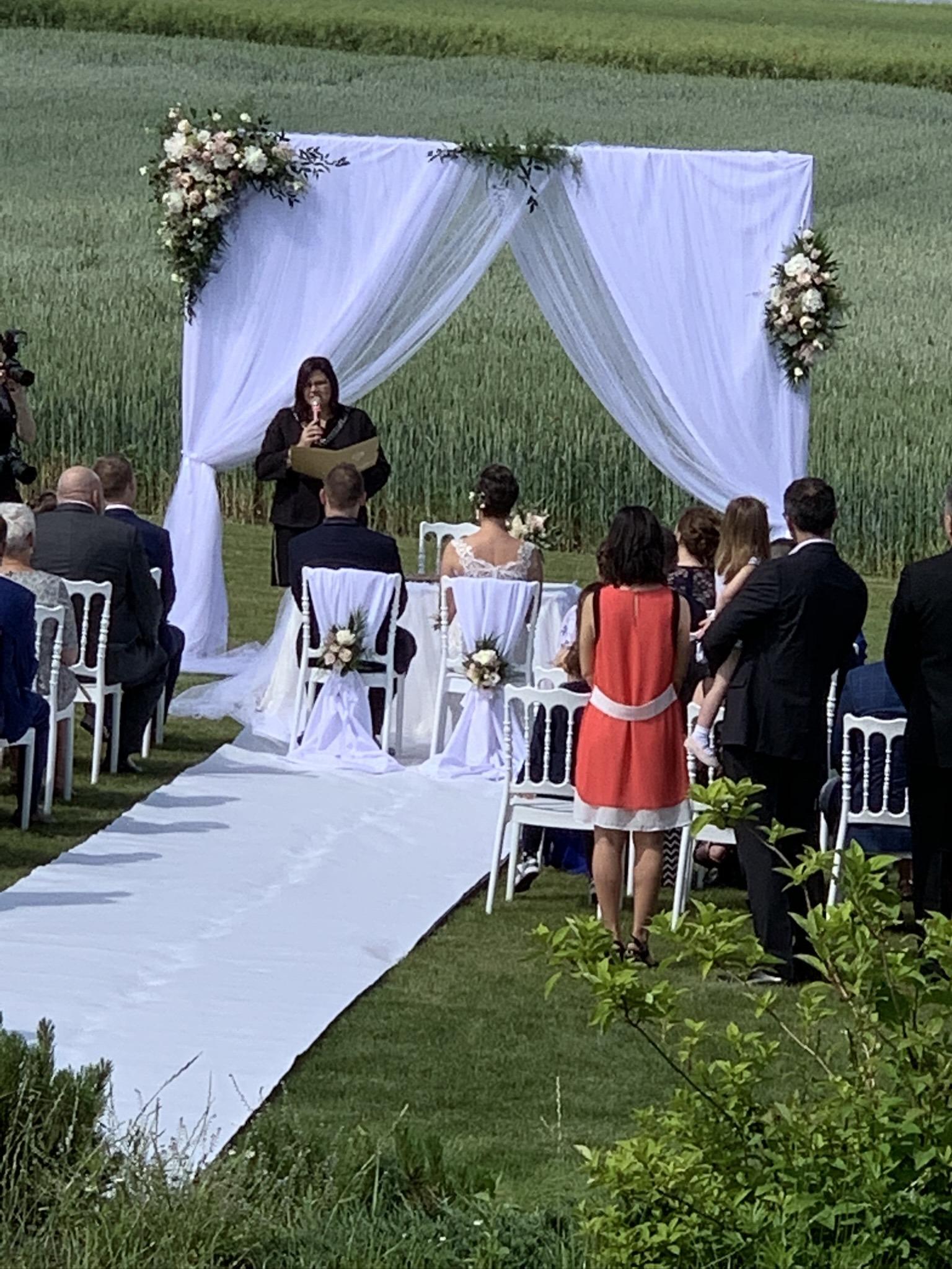 ślub cywilny w plenerze wrocław okolice