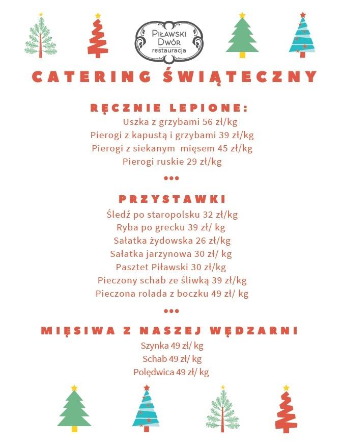 catering swiateczny 2020